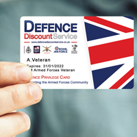 Veterans Gateway Defence Discount Service