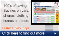 free online registration for 100's of online savings to be made by the forces community
