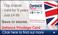 Home of the Defence Privilege Card the official Forces and Veterans Discount Card