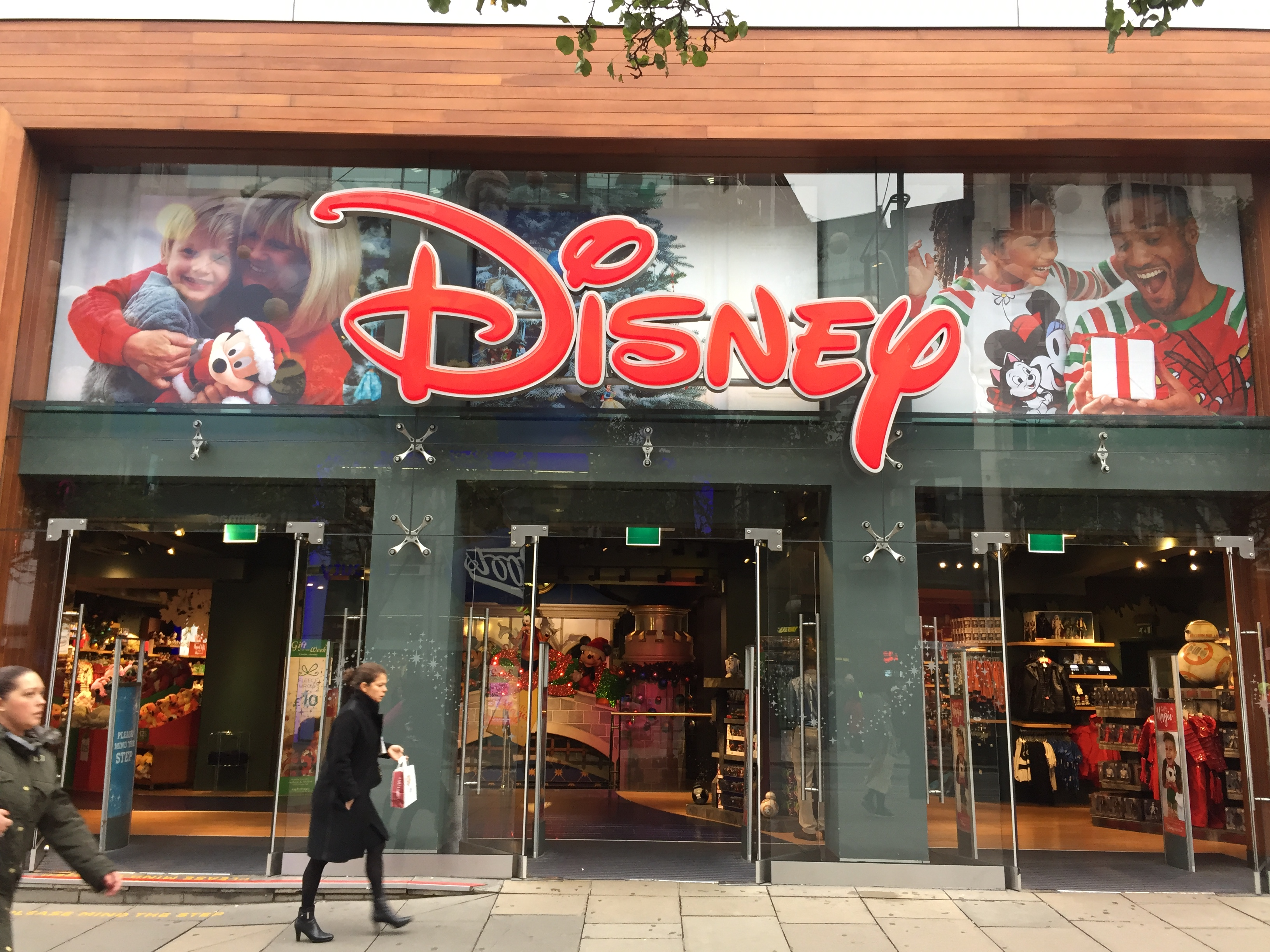 Disney Store now affiliates of DDS