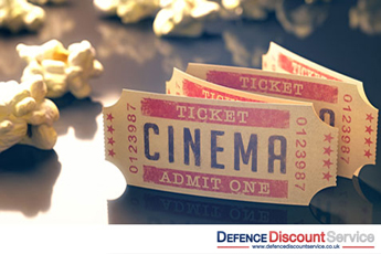 Cinema Savings for Defence Discount Service members