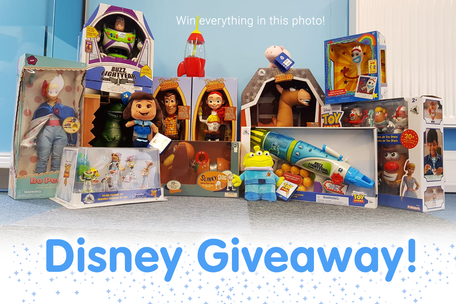 The Disney Store competition this bank holiday