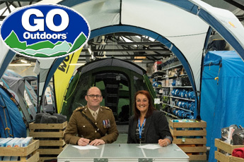 GO Outdoors Sign Armed Forces Covenant