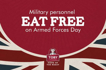 Armed Forces Day 2017 at Toby