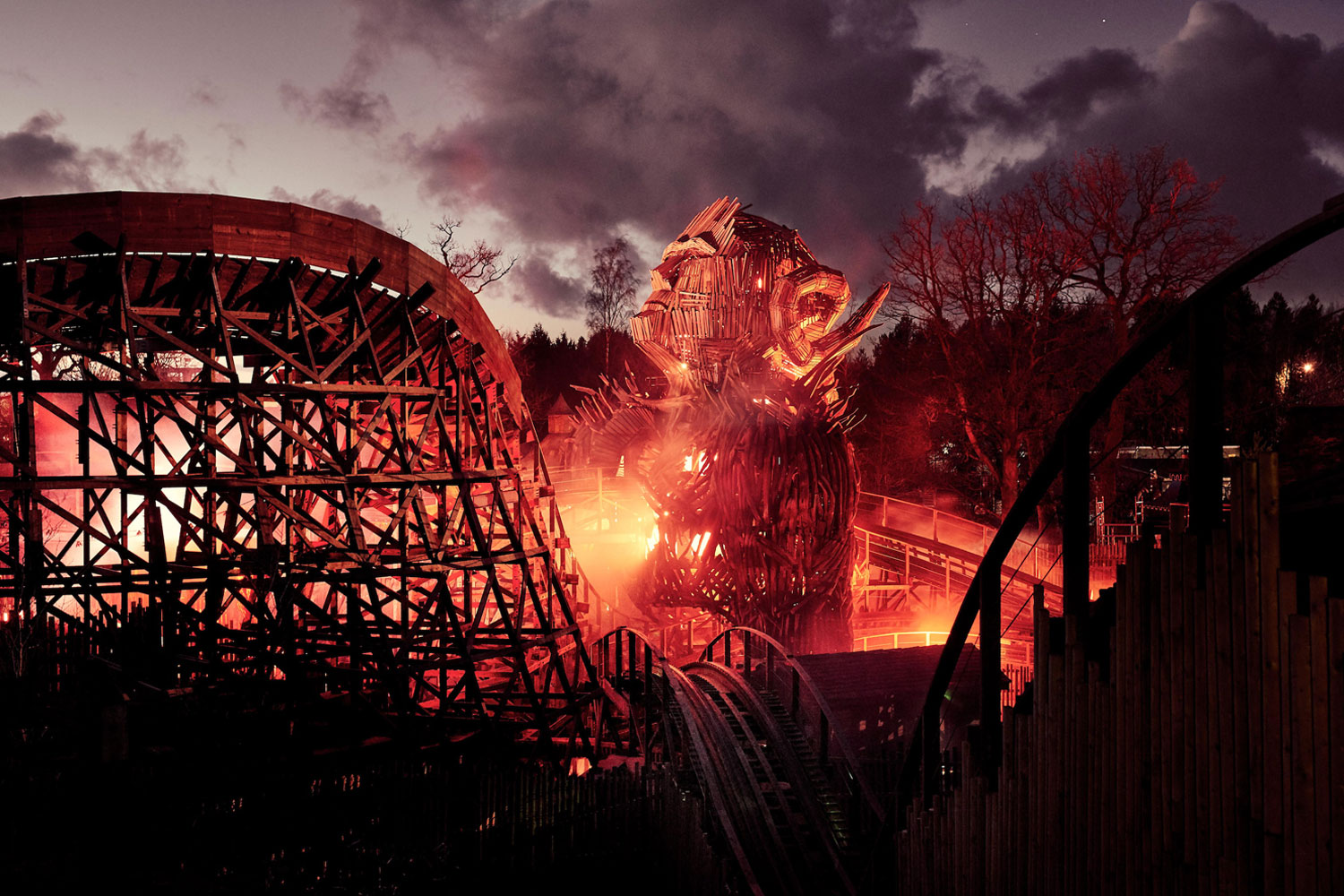 Introducing Wicker Man at Alton Towers